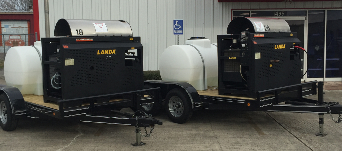 Landa SLT trailer packages