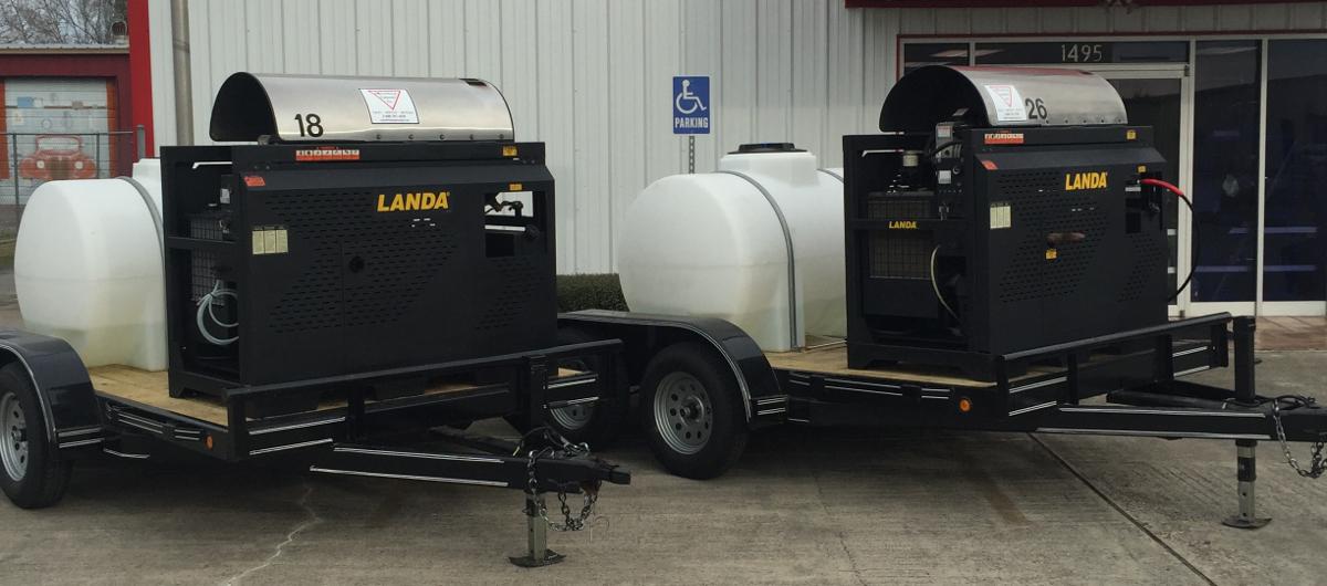 Landa SLT trailer packages